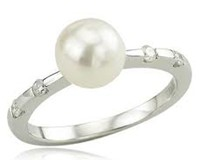 Pearl Engagement Rings For Sale Online - ZeeXchange.com