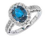 Gemstone Engagement Rings For Sale Online - ZeeXchange.com